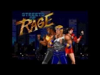 Streets of Rage Metal Opening - MEGADRIVER