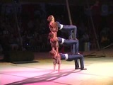 Erin Decker, Samantha Stokes, and Kristin Tornambe in Hand Balancing