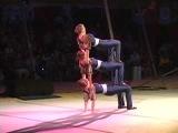 Erin Decker, Samantha Stokes, and Kristin Tornambe in Hand Balancing