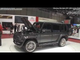 Mansory G55 AMG SLR-powered Carbon Body in detail