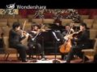 Dvorak American string quartet 4th mvmt_benefit concert_12-25-2009