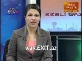 Canli yayimda gulen qiz. SES TV. - Canli yayinda gulme krizine dusen kiz www.EXIT.az :: wap.EXIT.az