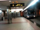 MBTA Silver Line departing Boston South Station