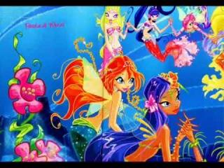 Winx Club - Mermaids - with japanese music