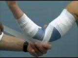 How to Tape the Elbow - Wie Tape ich das Ellbogengelenk