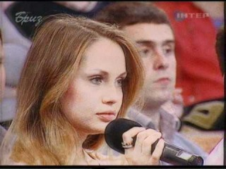 Таня на обсуждении скандалов вокруг отбора на Евровидение 2011
