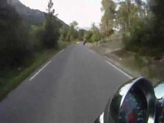 ДТП: Лобовое столкновение мотоцикла с автомобилем