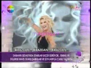 Seda Sayan - Allahım Kanal D tv canlı performans (2011)