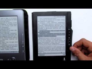 Сравнение Pocketbook 602 и Азбуки 618