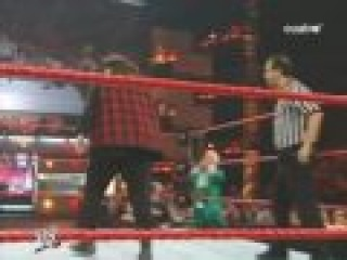 Hornswoggle & Mick Foley Vs. The Highlanders