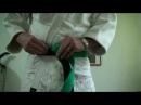 OBI How to tie a Belt Noeud de ceinture Double Full HD Judo Ju-Jitsu Karate Aikido Budo LFTA