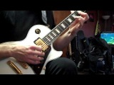 Todd with a White Les Paul Custom.MP4