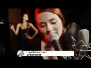 MTV Brazil: Lena Katina - Mr. Saxobeat @Top Mundi