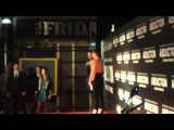 Taylor Lautner talks cars and motorcycles on stage Abduction Melbourne premiere