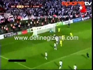Beşiktaş 5-1 Maccabi Tel Aviv ( İsrail'i Sahaya Gömdük