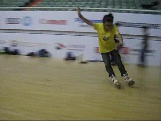 Тренировка китайской комады по слайдам. Shanghai Grand Prix 2011
