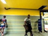 melvin manhoef is training his nephew Cedric Manhoef!!!!!