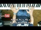 Tutorial T.I. feat. Christina Aguilera - Castle Walls Piano How To Play