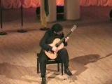 Rare Guitar Video: Aniello Desiderio plays Mozart Variation by Fernando Sor