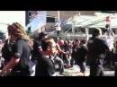 RWC flash mob Maori Haka - britomart