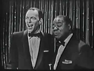 Louis Armstrong and Frank Sinatra - Live show