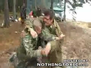 Funny drunk old Russians Fighting!!!