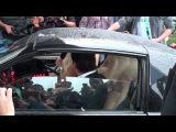 David Hasselhoff in my Knight Rider KITT Replica (at The Dome 55 with Daniela Katzenberger)