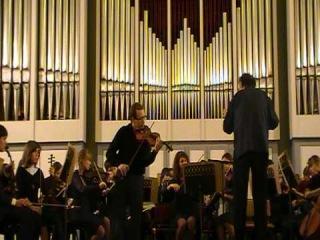 А.Дворжак.Концерт для скрипки с оркестром,op.53,1 часть.