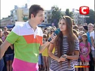 «Караоке на майдані» в Прилуках 18 сентября 2011 г на канале СТБ