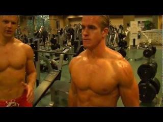 Male Fitness Models: Advanced Dumbbells Biceps Workout