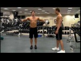 Mens Workout Video for Shoulder muscles
