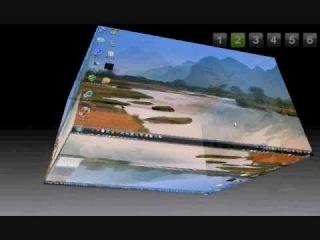 Windows XP/Vista 3D Desktop (Cube)