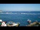 Падение вертолета. Ялта. 8 мая. (Yalta Grand Prix of the Sea 2010).MOV