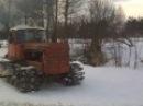 Трактор ДТ-75Б зима2012