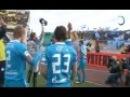 Церемония награждения и раздевалка команды после матча за СуперКубок России 2011 «Зенит»-ЦСКА 1:0