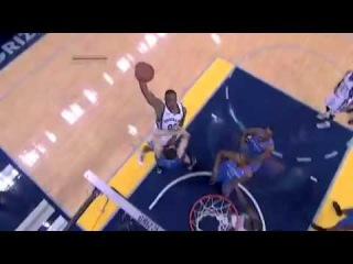 Darrell Arthur SICK One-Handed Dunk on Nick Collison (Game 6, May 13, 2011)