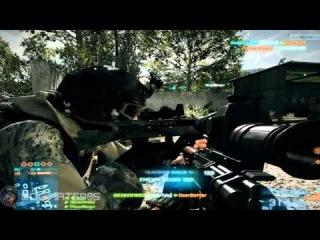 battlefield 3 BETA caspian border map gameplay part 3 final