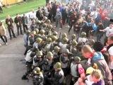 Спартак избил в Самаре фанатов Крыльев и Омон. 2011