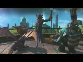 Skylanders: Spyro's Adventure Gameplay Kapitel 2 - gefährliches Grasland