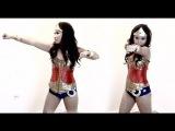 DIY Wonder Woman(образ комиксов марвел чудо-женщина Костюм на Хеллуин)