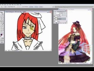 UTAU- Namine Ritsu- Love Is War- Speed Painting