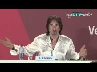Al Pacino on Wilde Salome @ Venice Film Festival Part I