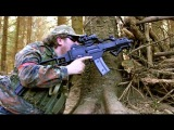 AIRSOFT WAR ICS CXP M4 G36c SCOTLAND 1080P HD