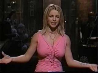 Britney Spears : Lip-Sync + Fake Boobs (SNL)