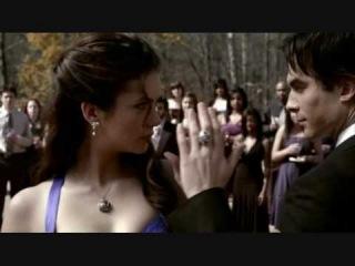 Очень красивый и романтический танец, Дэймона и Елены! (сериал