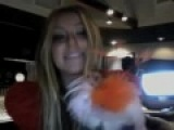 Aubrey O'day on Ustream live on 08/25/10 part 1/4