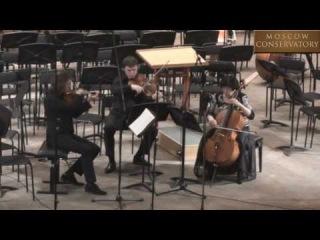 Alfred Schnittke - Trio for violin, viola and cello (1985)
