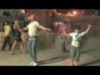 Tarik dancing to Il Aynab in Old Market Sharem el Sheikh Egypt
