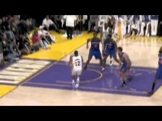 Shannon Brown Super Athletic Dunk