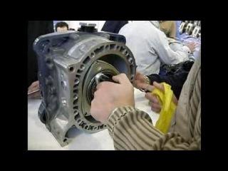 Демонстрация принципа работы авиационного роторного двигателя для винтовых  ЛА